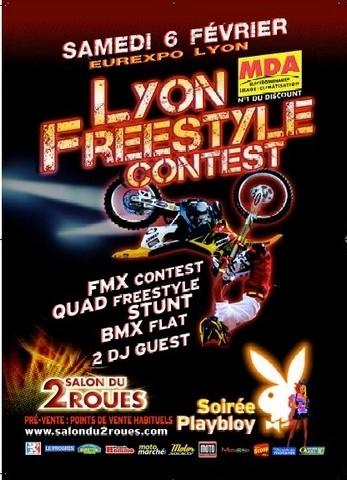 Le salon du 2 roues de Lyon compte bien vous mettre la tête à l'envers : Freestyle Contest.