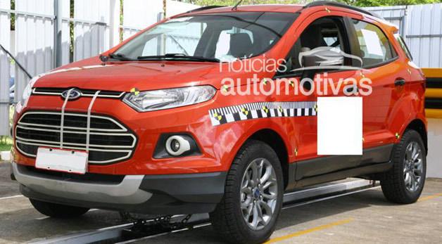 Voici le Ford Ecosport de série