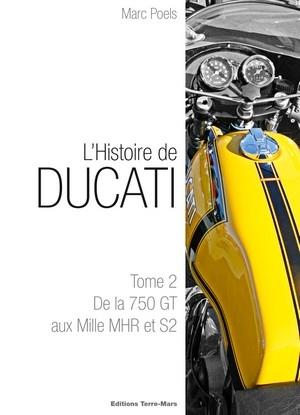 Idée cadeau : l'histoire de Ducati tome 2 est disponible.