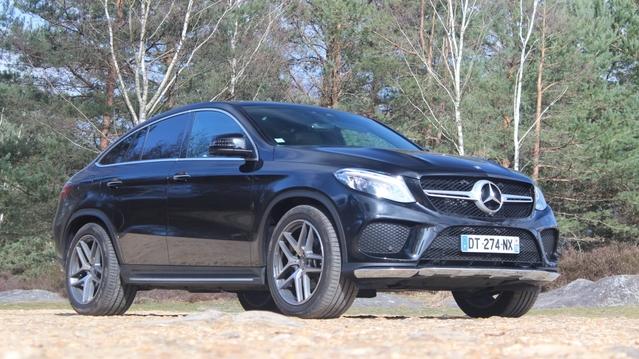 Essai vidéo - Mercedes GLE Coupé: m'as-tu vu