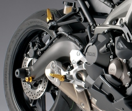 Puig: tout pour habiller la Yamaha MT-09