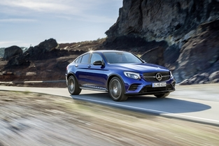Salon de New York : Mercedes dévoile le GLC Coupé