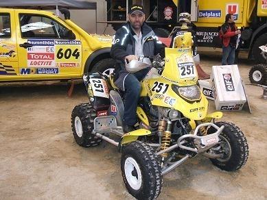 Antoine Morel au Dakar