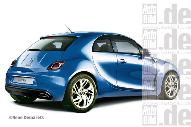 La future Citroën DS2 comme ça ?