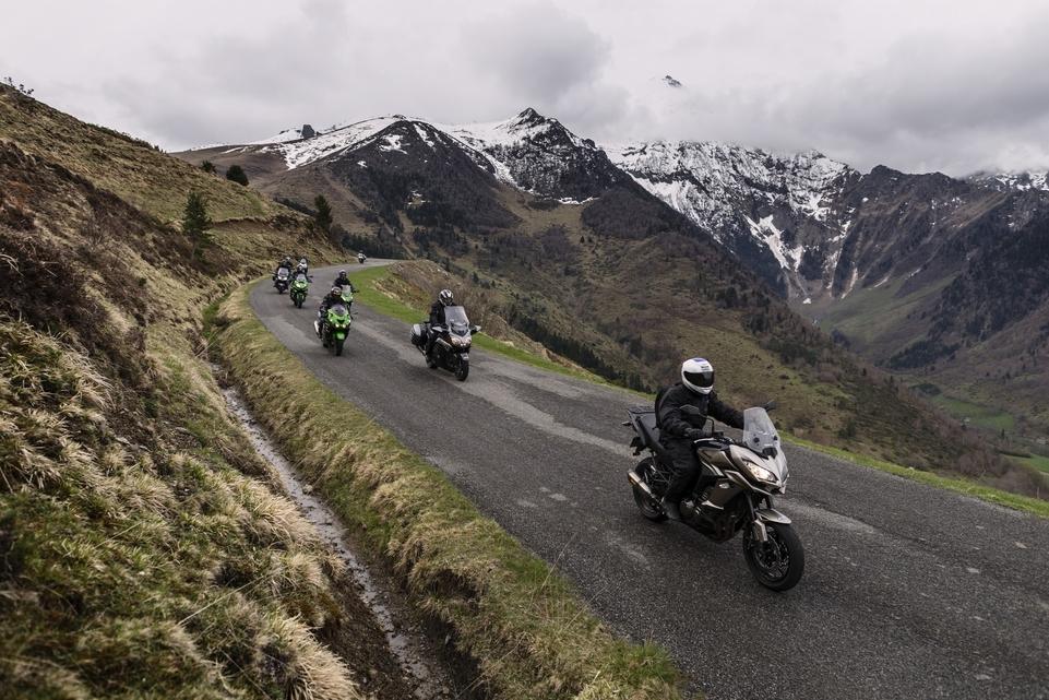 Caradisiac Moto a testé les Cols Verts