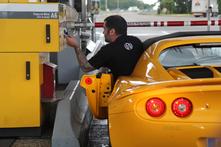 Lotus Elise S au quotidien : jour 3, avec 536 km d'autoroute A6 à avaler sous la pluie