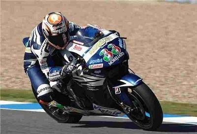 Moto GP: Melandri fait dans le frontal