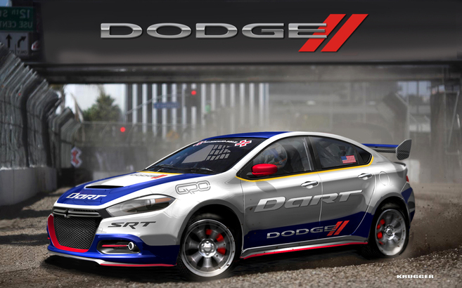 Dodge Dart : 600 ch pour le Global RallyCross