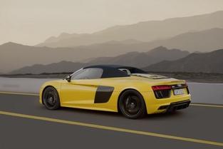 Salon de New York : Audi dévoile la R8 Spyder