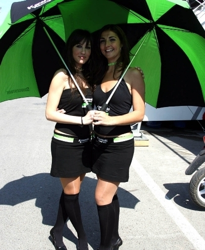 Les demoiselles du Paddock : GP d'Espagne