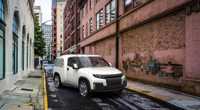 Toyota U2 concept: le petit utilitaire de demain