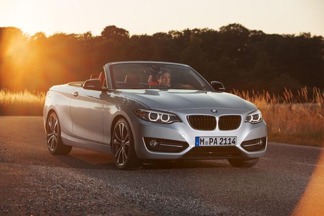 Mondial 2014 : BMW présente la Série 2 cabriolet