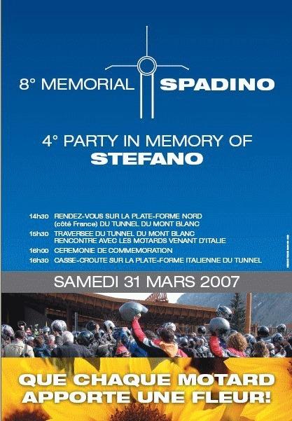 Le mémorial Spadino le 31 mars 2007 - Haute Savoie