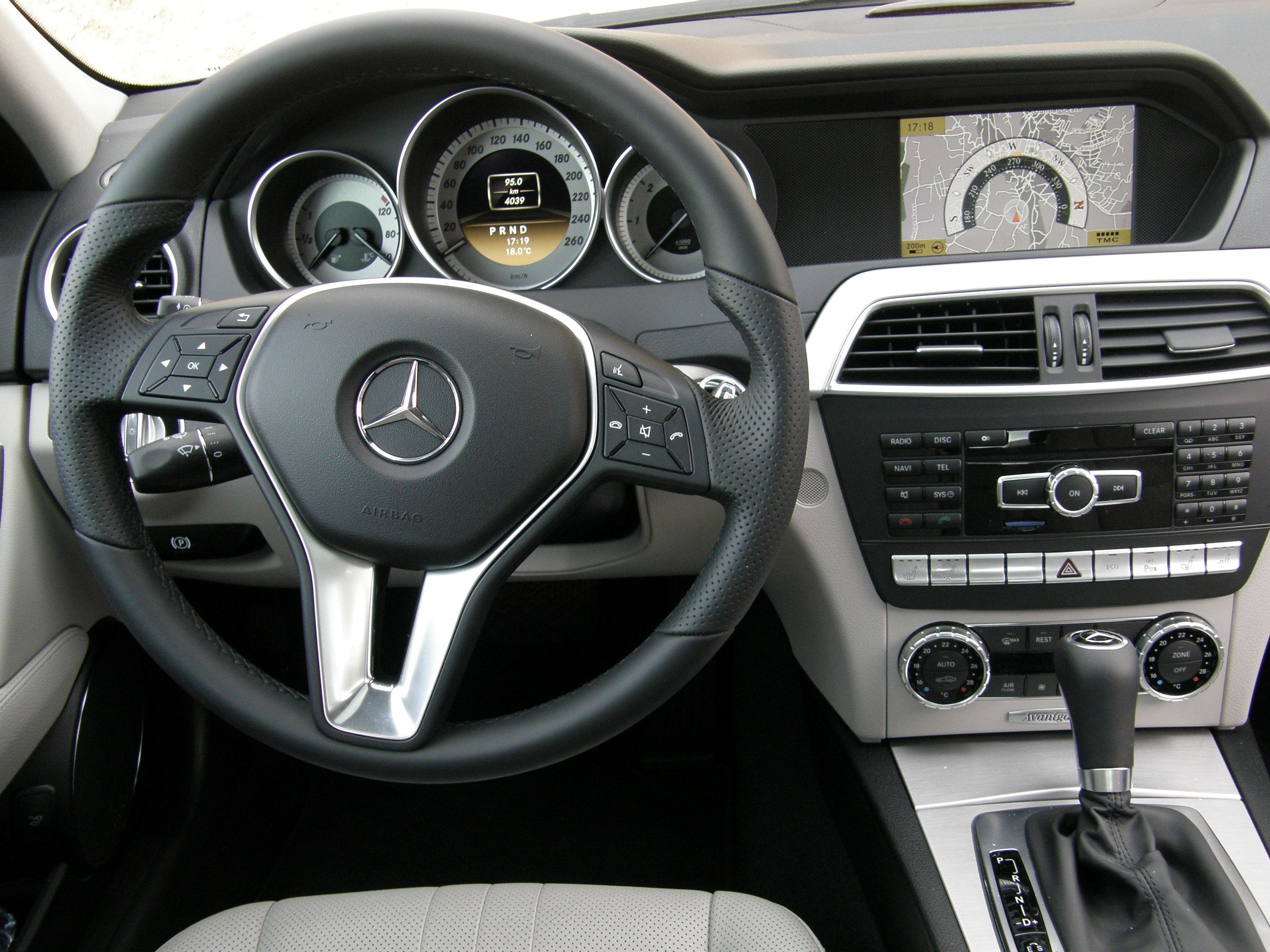 Couvre Volant Mercedes Classe C Bois