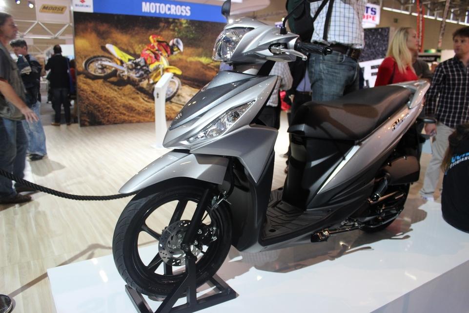 En direct d'Intermot : le Suzuki Address