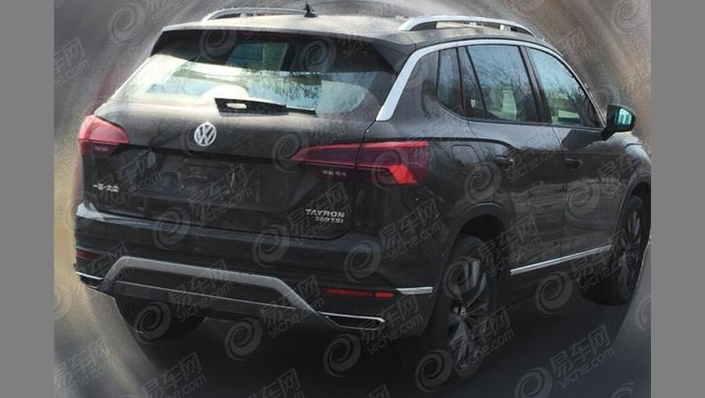 Volkswagen : le nouveau SUV Tayron en fuite