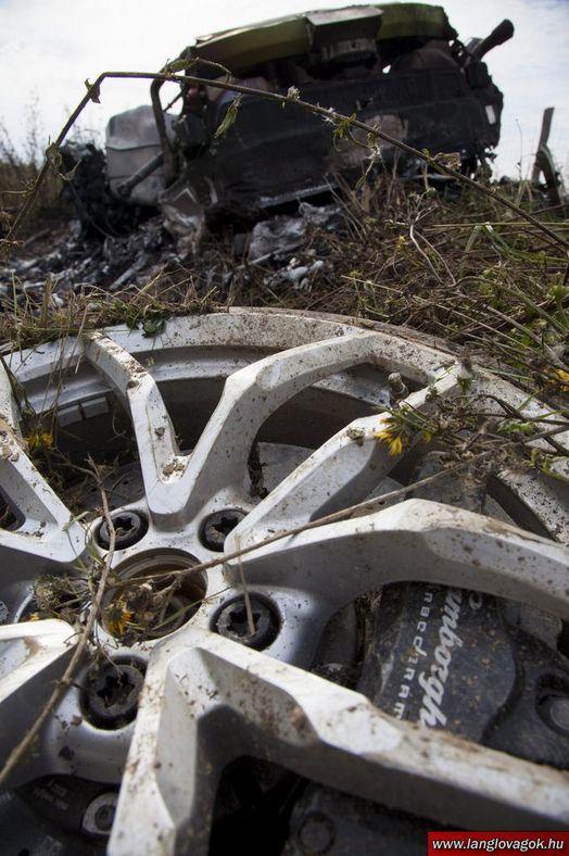Une Lamborghini Huracan réduite en cendres en Hongrie