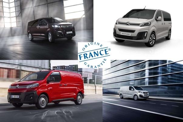 """Les Peugeot Traveller, Citroën Spacetourer, Toyota Proace et leurs dérivés utilitaires sont fabriqués en France et bénéficient du label """"Origine France garantie"""". L'usine de Sevelnord procède actuellement à une vague d'embauche pour faire face à la demande."""