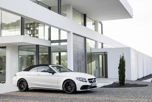 Salon de New York : Mercedes dévoile la C63 AMG cabriolet