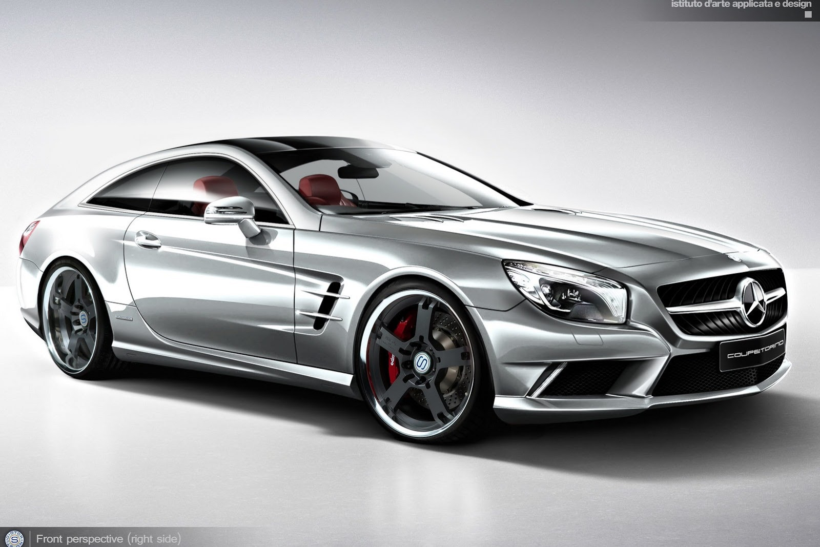 2013 Studiotorino Mercedes Sl Coupetorino Concept Dark Cars