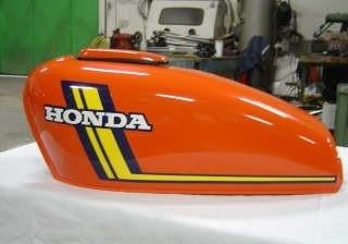 Réservoir Honda 125 S3 chez DD Moto Team