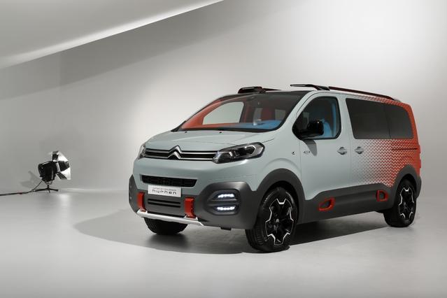 Découverte vidéo - Concept Citroën SpaceTourer Hyphen : boîte à musique