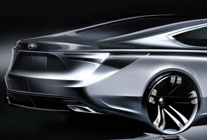 New York 2012 : la Toyota Avalon s'annonce