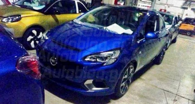 Surprise : voici l'Opel Corsa OPC