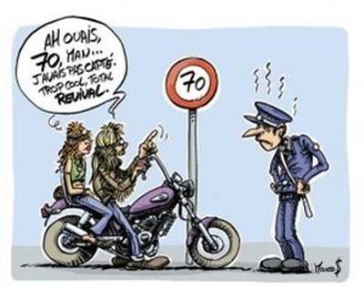 Une nouvelle bd sur la moto la famille otaqu - Dessin humour moto ...