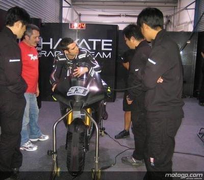 Moto GP - Test Losail: Le Hayate Racing Team s'est montré