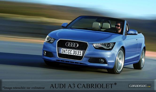 La nouvelle famille Audi A3 arrive en 2012, le Cabriolet en 2014