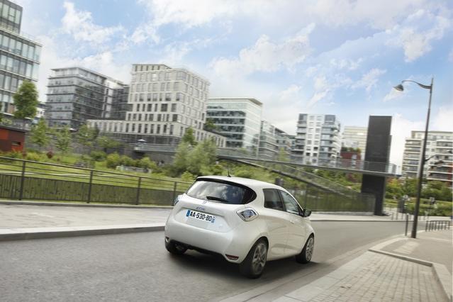 La Renault Zoé est la voiture électrique la plus vendue en Europe: 18 727 unités écoulées l'an dernier.