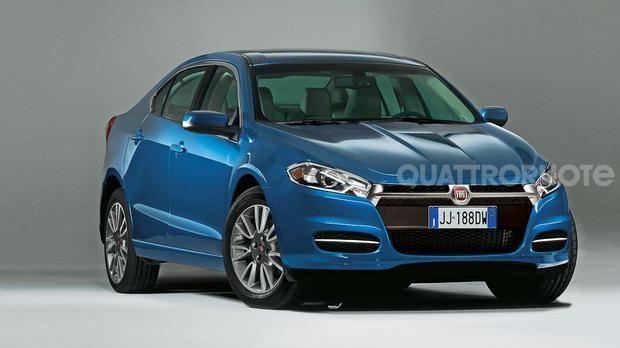 Pékin 2012 : Fiat Viaggio, la Dodge Dart chinoise