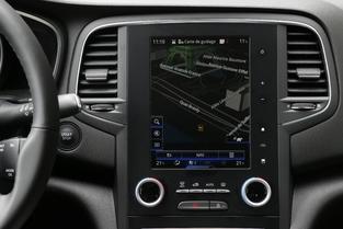 A l'intérieur de la Renault Mégane