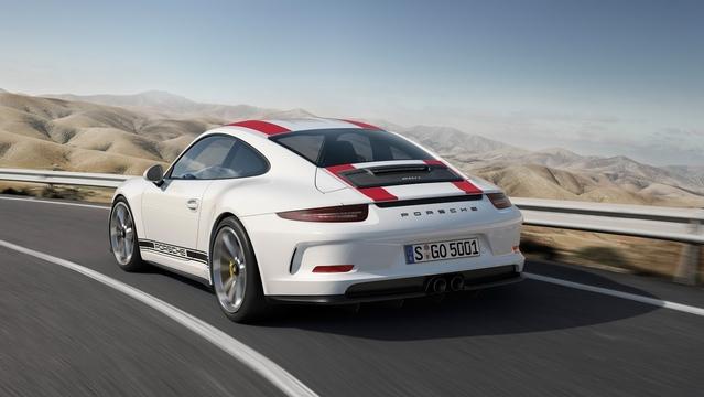 La Porsche 911 R se dégourdit les pistons (vidéo)
