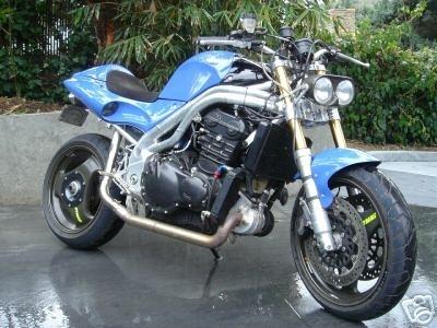 Un turbo dans une moto