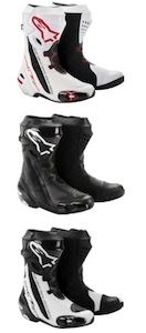 Alpinestars réactualise sa botte racing Supertech R