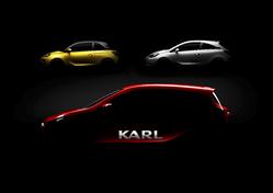 Mondial 2014 : la future petite Opel 5 portes s'appellera Karl