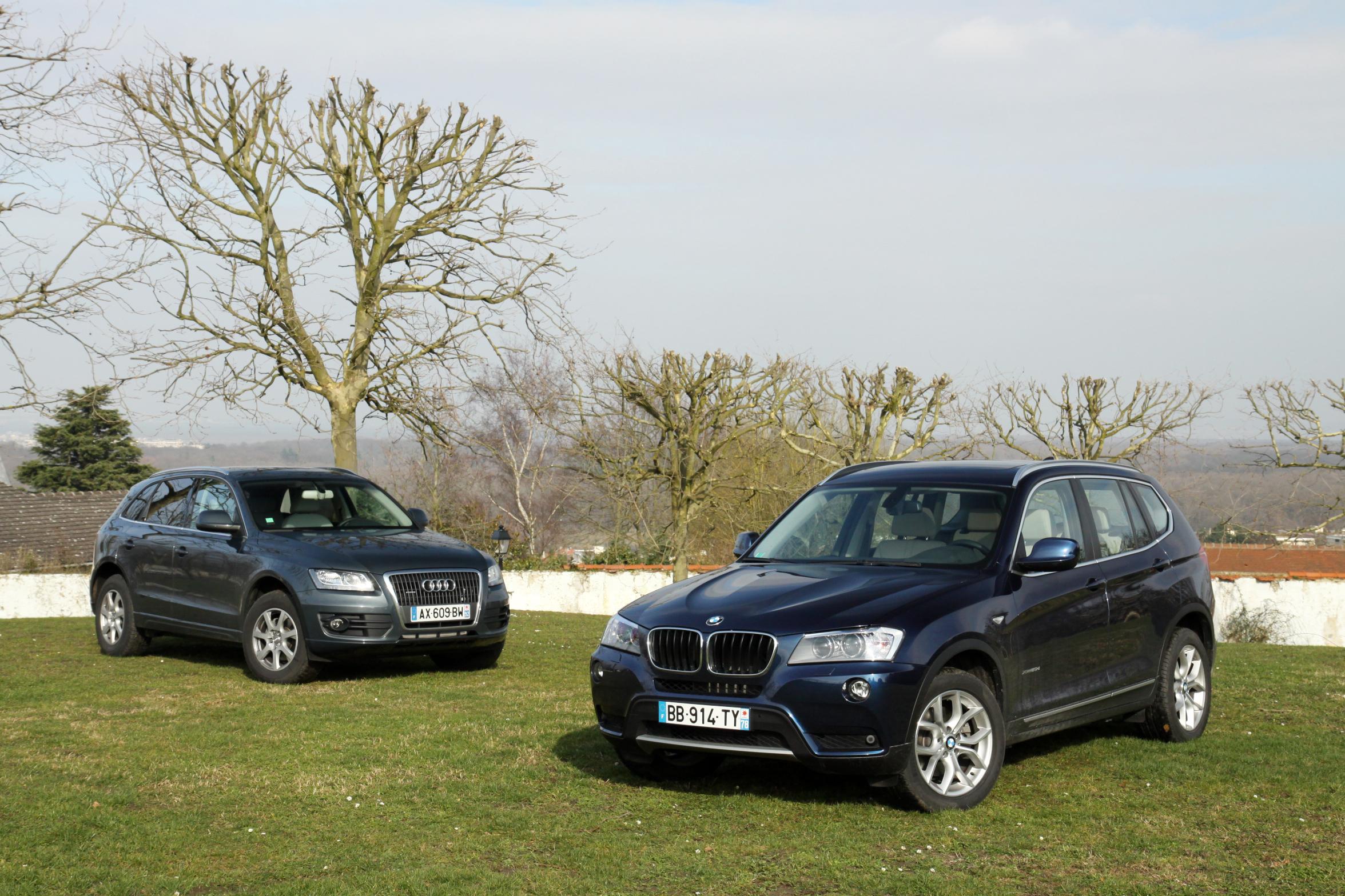 Bmw X3 Vs Audi Q5 Petite Guerre Entre Amis