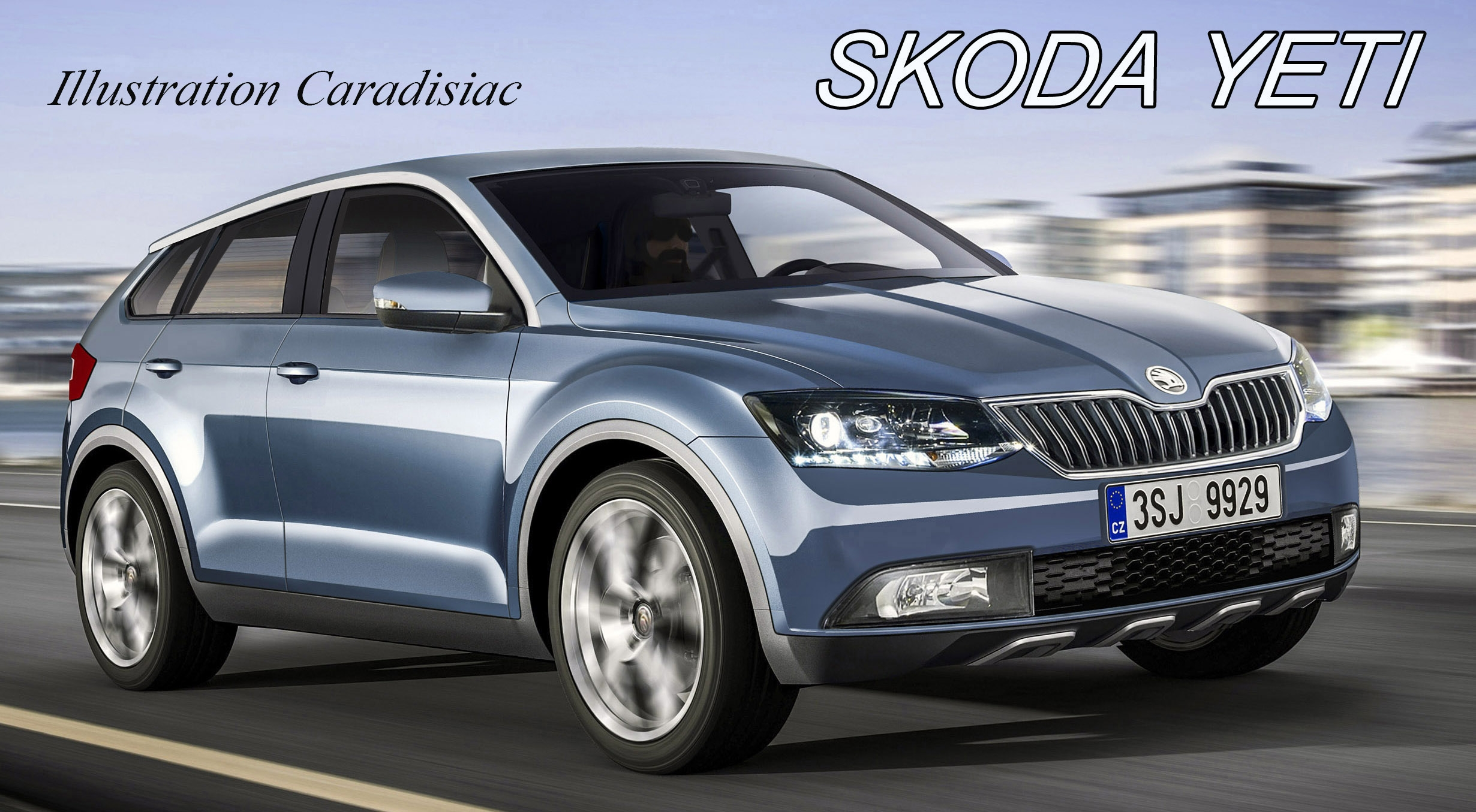skoda le suv yeti va changer en 2017. Black Bedroom Furniture Sets. Home Design Ideas