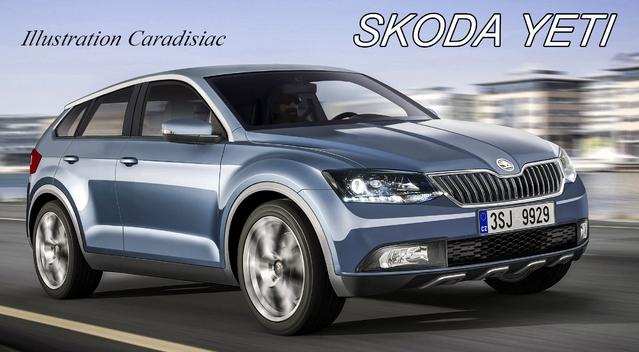Skoda : le SUV Yeti va changer en 2017