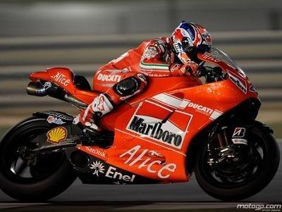 Moto GP - Test Losail D.2: Stoner brille même la nuit
