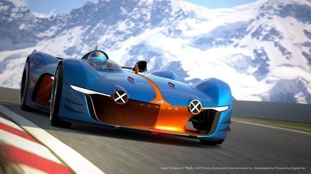 Le concept-car Alpine Vision Gran Turismo.
