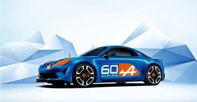 Le concept-car Alpine Celebration.