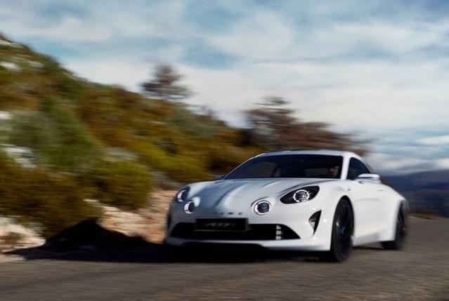 Le concept-car Alpine Vision.