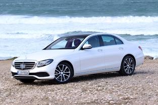 Le véhicule essayé : la Mercedes Classe E.