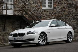 L'alternative en occasion : la BMW Série 5.