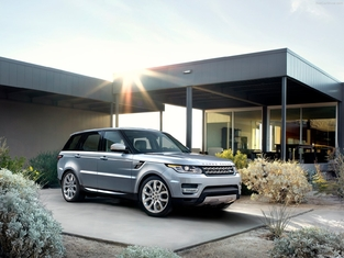 L'alternative en occasion : le Range Rover Sport.