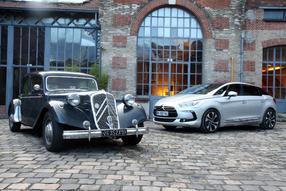 Vidéo - Citroën Traction 15 vs Citroën DS5 : voyage dans les hautes sphères