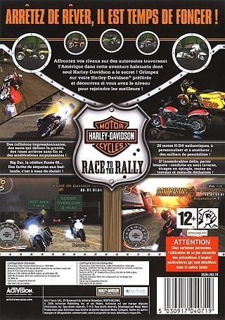 Jeux Video : Harley-Davidson Race to the Rally